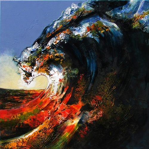, Last Wave of the Day Giclee Reproduction, Manly Harbour Gallery