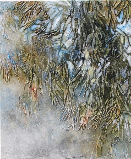 , Leafy Cascade (Study), Manly Harbour Gallery