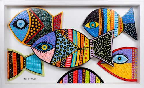 , Small School of Fish, Manly Harbour Gallery