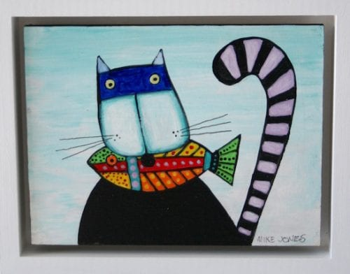 , Cat with Fish, Manly Harbour Gallery