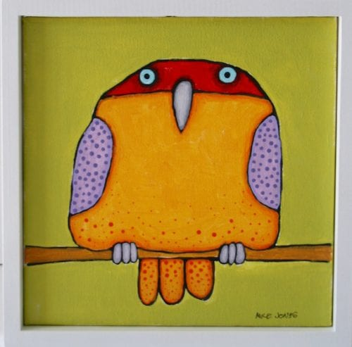 , Red Headed Yellow Bird, Manly Harbour Gallery
