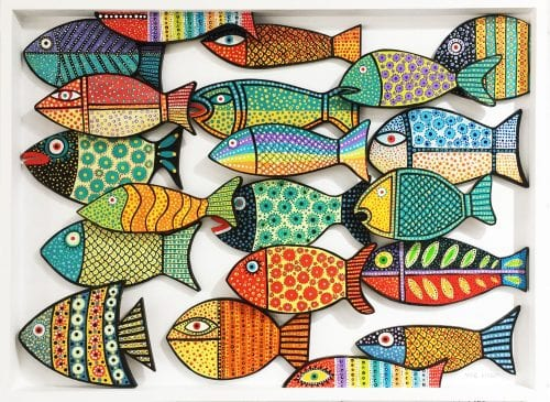 , Three Dimensional Fish, Manly Harbour Gallery