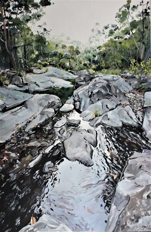 , Still Cedar Creek, Manly Harbour Gallery