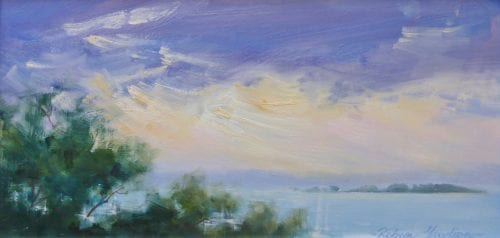 , Stormy Sunrise Over King Island, Manly Harbour Gallery