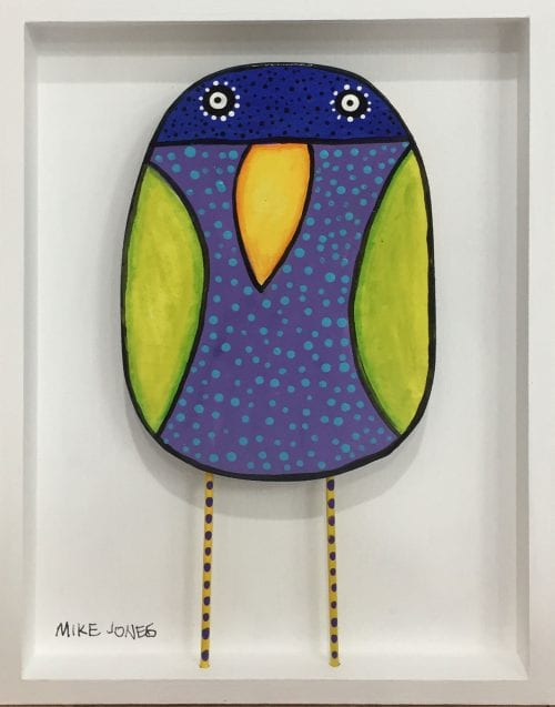 , Green Winged Bird, Manly Harbour Gallery
