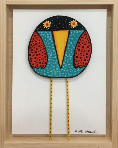 , Red Winged Bird, Manly Harbour Gallery