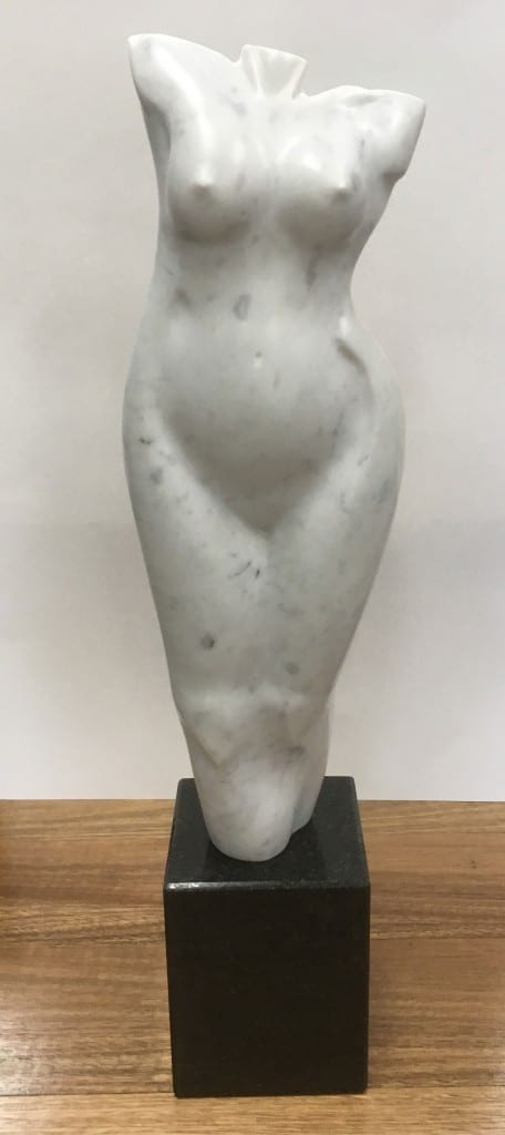 Felicity. Sculptor Zygmunt Libucha at Manly Harbour Gallery