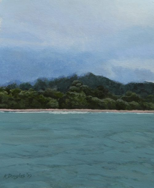 , Rain, Forest, Sea, Manly Harbour Gallery