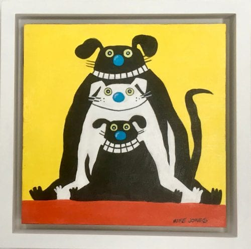 , Silhouette Dogs, Manly Harbour Gallery