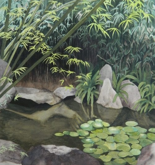 , Chinese Garden, Manly Harbour Gallery