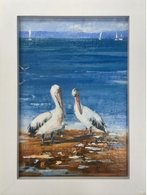 , Afternoon Chat, Manly Harbour Gallery