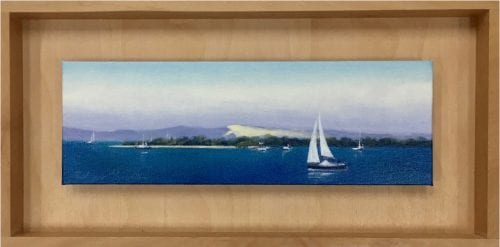 , Sail off Green Island, Manly Harbour Gallery