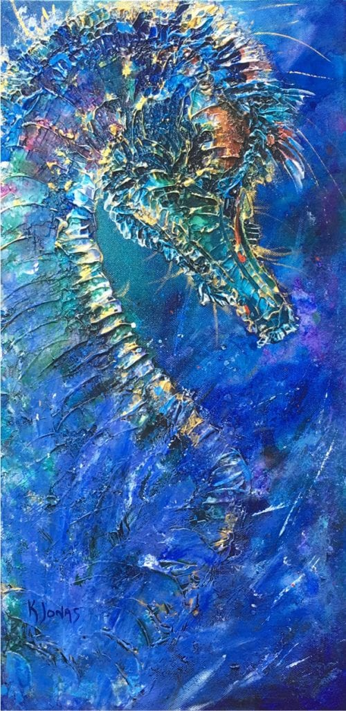 , Bejewelled Hippocampus, Manly Harbour Gallery