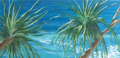 , Twin Pandanus, Manly Harbour Gallery