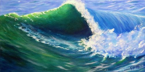 , Wave Study, Manly Harbour Gallery