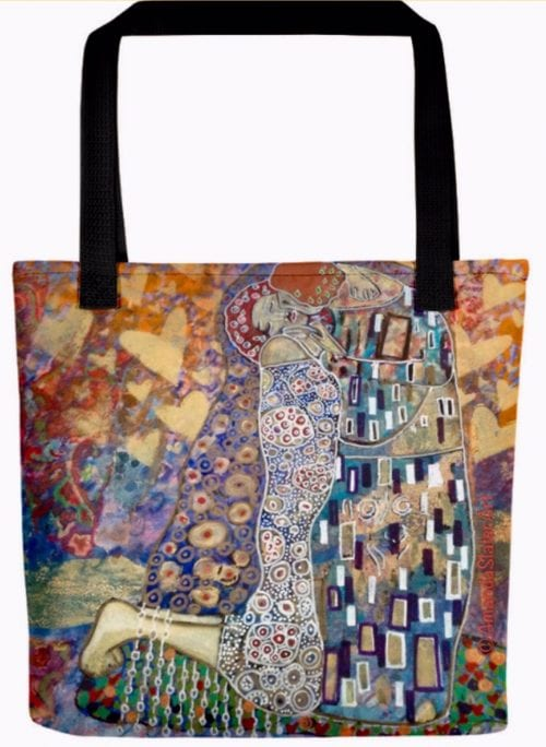 I Love Gustav tote bag by Amanda Slater