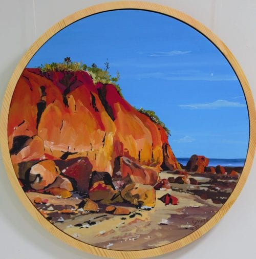 , It Really is this Red, Manly Harbour Gallery