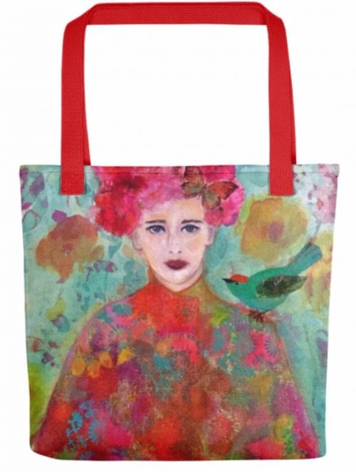 MeiLing medium tote bag by Amanda Slater