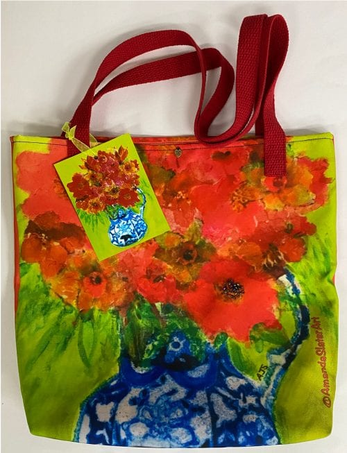 Art Tote Bag by Amanda Slater