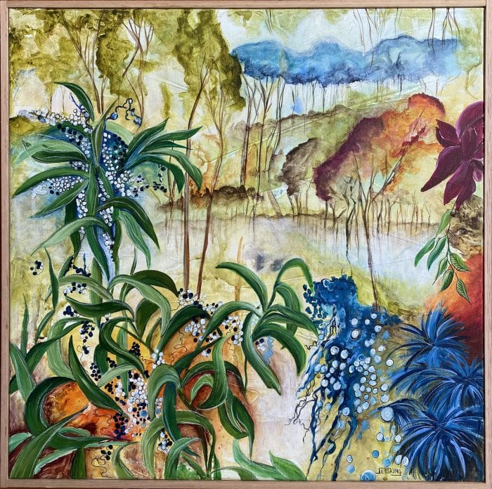 Aussie Bush 3 by Jess King for sale at Manly Harbour Gallery