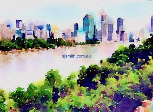Brisbane the Rive City by Sarah-Jane Smith