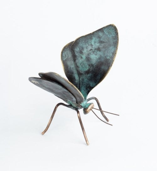 Butterfly bronze by Denise Murray Australian Artist