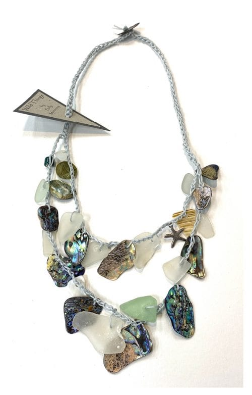 WTN 2 Handcrafted Necklace $75 54cm Length of strand by Wild Things