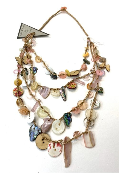 WTN 3 Handcrafted Necklace $75 52cm Length of strand by Wild Things
