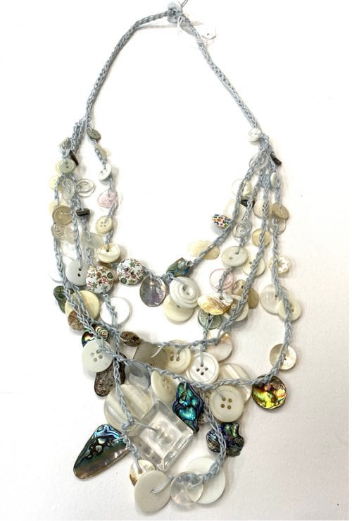 WTN4 Handcrafted Necklace $75 54cm Length of strand by Wild Things