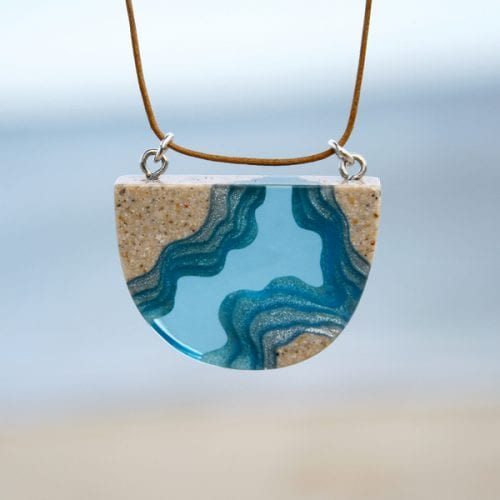 Waterway Necklace buy online at Manly Harbour Gallery