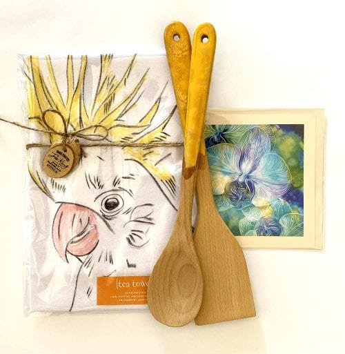 Gifts for sale at Manly Harbour gallery gift shop where you can buy local hand made