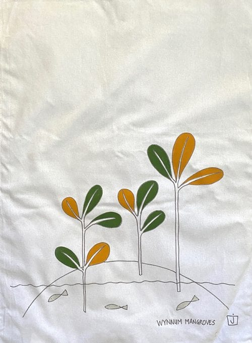 JMAC-ART Cotton Ta Towel Mangroves $20 50x70cm