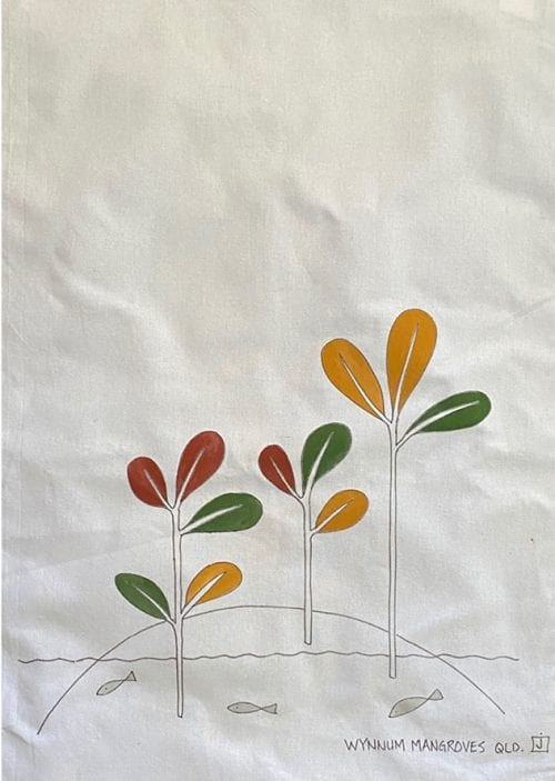 JMAC-ART Cotton Towel Mangroves $20 50x70cm