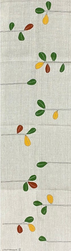 JMAC-ART Linen Table Runner Mangrove Series$45 150x45cm 2
