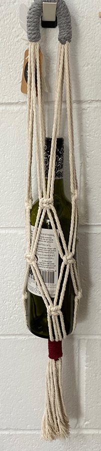 Winifred and Wulfe Bottle Hanger $32 80cm long Cream