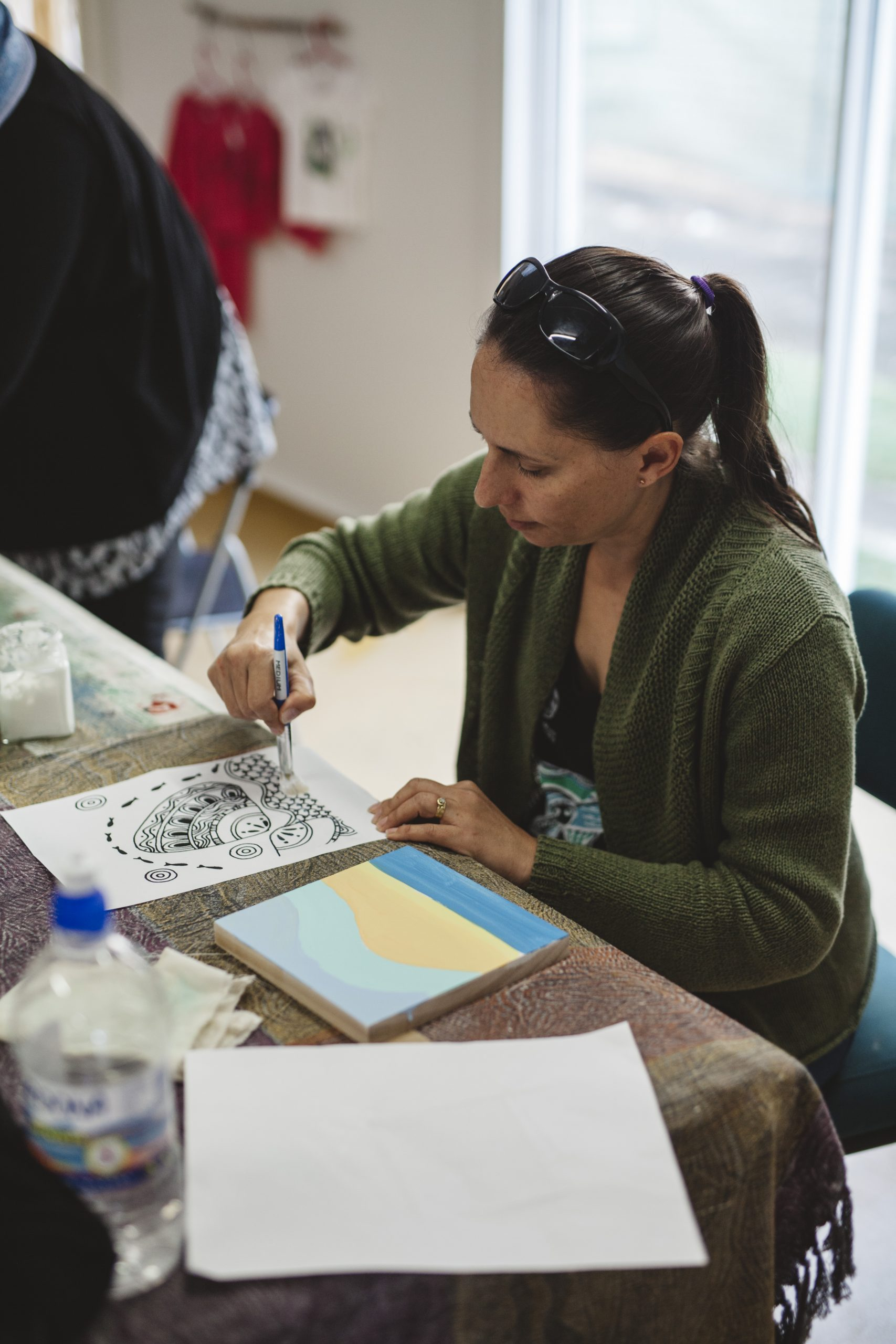 Indigenous Artist Alicia Close