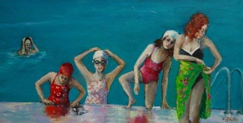 , Girls in Training, Manly Harbour Gallery