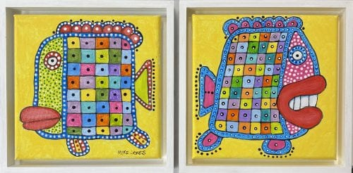 , Twin Fish, Manly Harbour Gallery