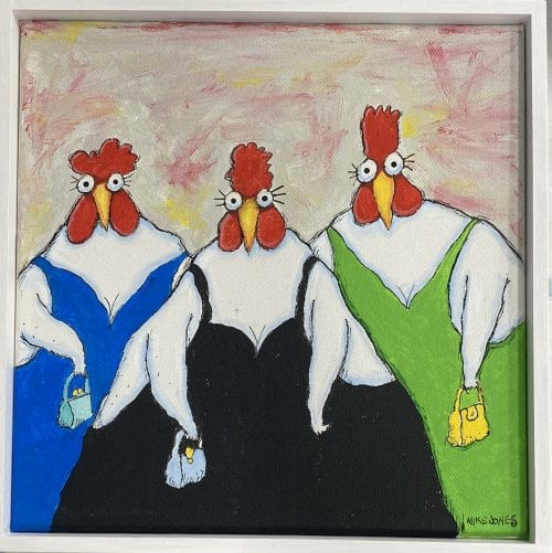, Lady Chooks, Manly Harbour Gallery