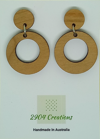 cherrywood earrings by 2904 creations $24