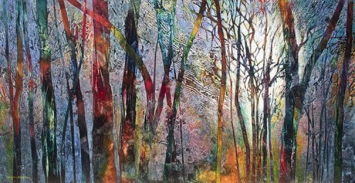 , Forest Vibrations, Manly Harbour Gallery