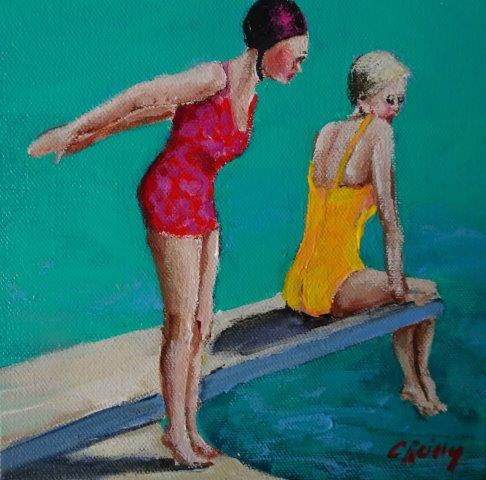 , Divers B, Manly Harbour Gallery