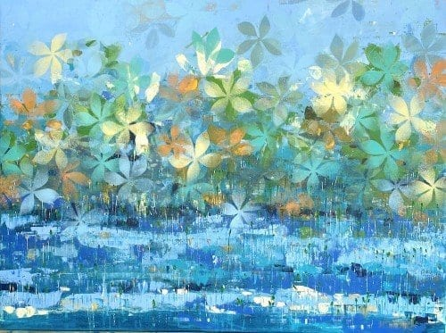 Mangroves at Hightide by Jenny McNamara Furlong