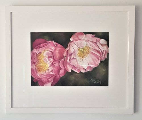 Peony magic with framing. Approx weight 2.6kg