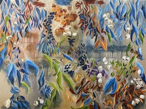 painting for sale by Jess King at Manly Harbour Gallery