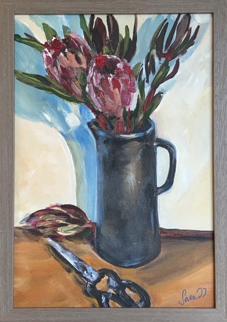 , Black Jug and Conebush, Manly Harbour Gallery