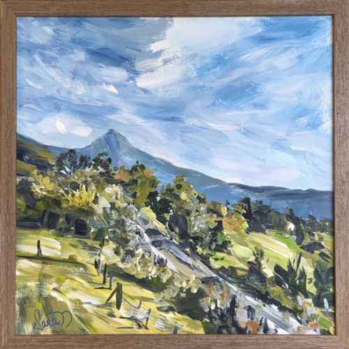 , Mount Warning view, Manly Harbour Gallery