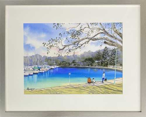 , Manly Harbour Magic $350, Manly Harbour Gallery